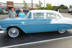 1956 Chevy Bel Air-Billy & Louise Jarrell