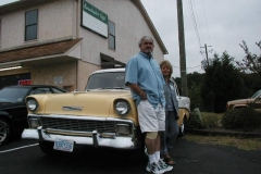 1956 Chevrolet Sedan-Bobby & Gail Jackson