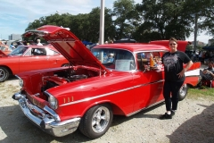 1957 Chevy Bel Air-Dolores & Herb Vann