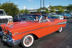1957 Chevy Convertible-Herb & Dolores Vann