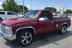 1989 Chevy Truck-Nell & James Meredith