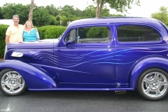 1937 Chevy Sedan-Tom & Arlene Male