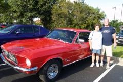 1968 Ford Mustang-John& Teila Harriott
