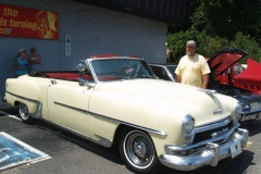 1954 Chrysler Windsor Convertible-Dennis & Diane Sullivan